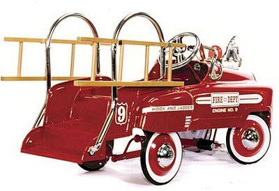 voiture à pédales vintage