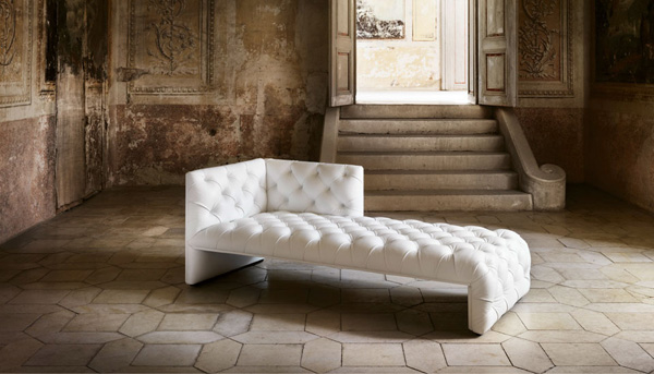 canapé chaise longue design Edwards