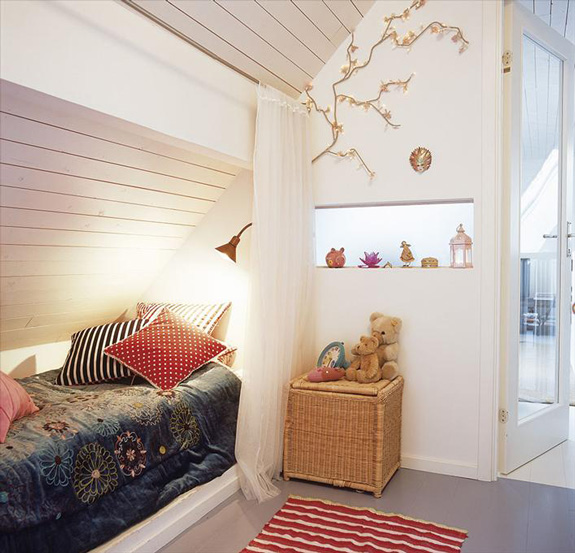 Aménagement d'une chambre en sous-pente