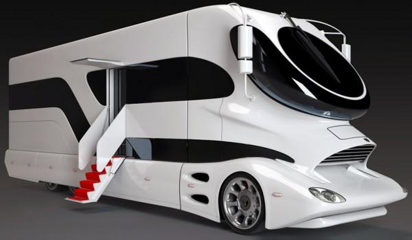 Camping Car de luxe autre côté