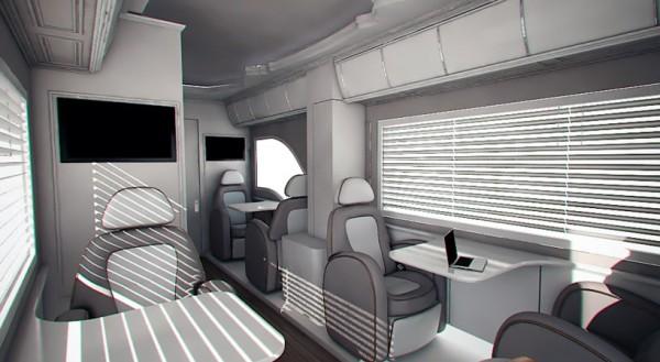 Camping Car Marchi Mobile - Vue intérieur
