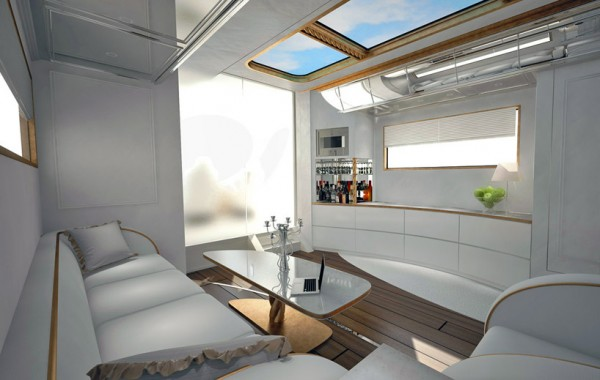 Camping Car de luxe - salon