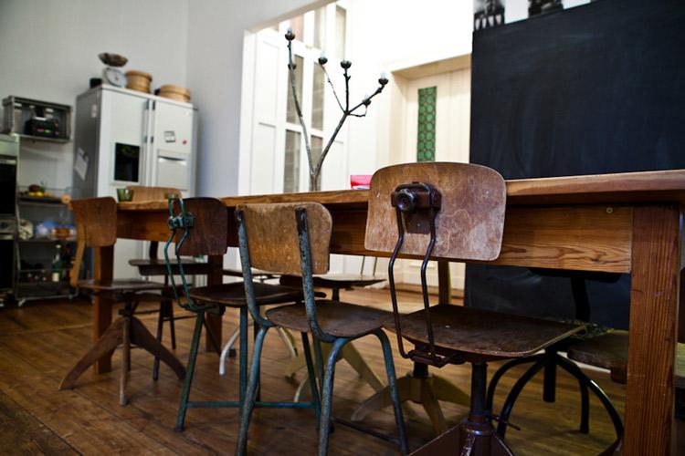 cuisine industrielle deco ambiances vintage design bois et cuir pour votre int rieur - Cuisine Industriel Vintage