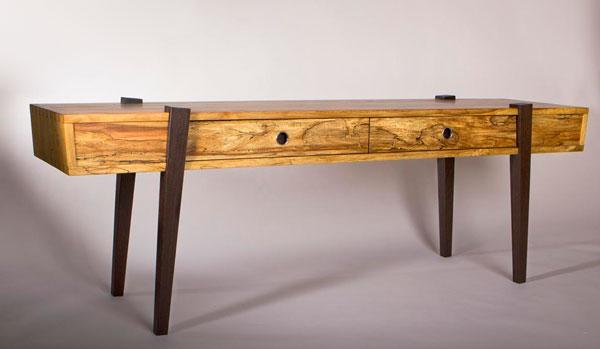 Console Dovetail en bois massif
