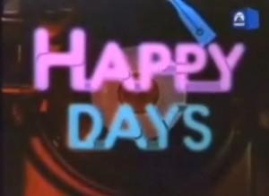 La série américaine Happy Days - Les jours heureux