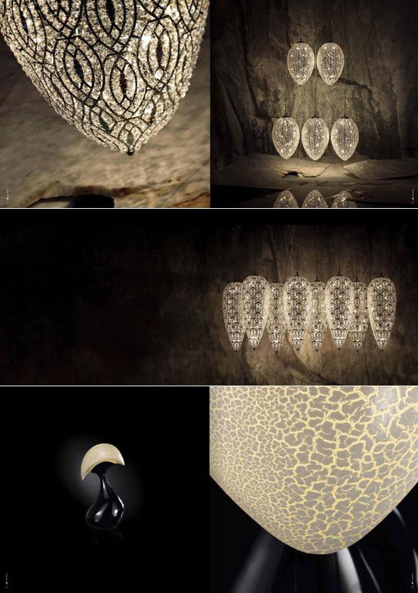 Luminaires, meubles et objets design Vanin Giancarlo