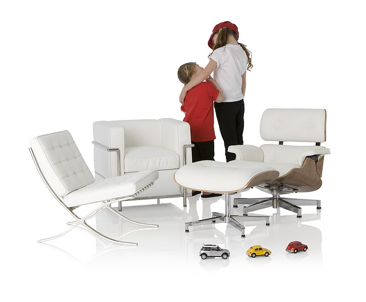 longe chair de eames, egg chair de jacobsen, lc2 de le corbusier ... - Copie Meubles Design