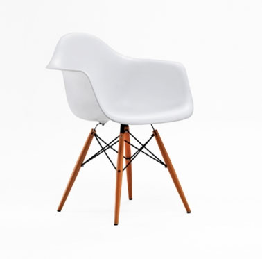 Meubles design copie for Fauteuil eames imitation