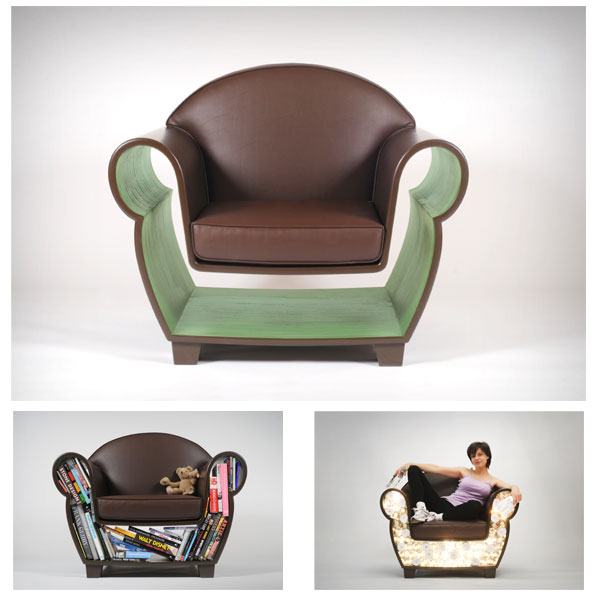 Fauteuil Hollw Chair