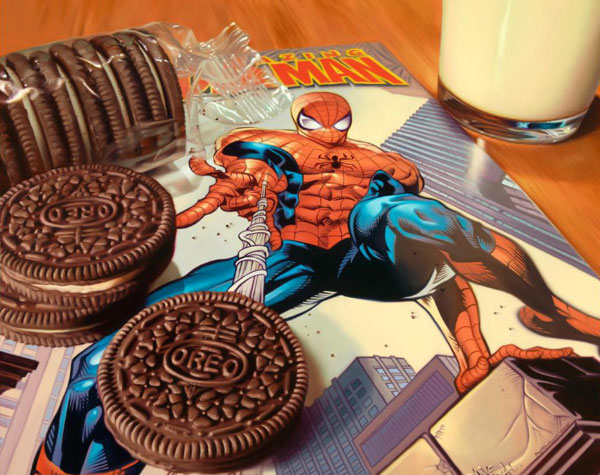Les peintures photoréalistes de Doug Bloodworth