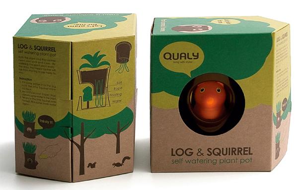 Pot écureuil