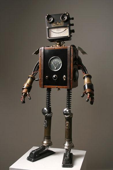 Robot Jones de pieds