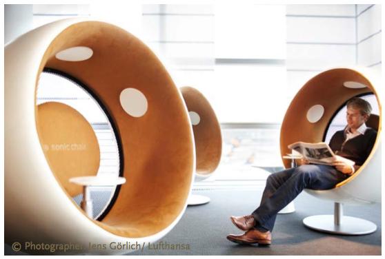 Fauteuil acoustique Sonic Chair