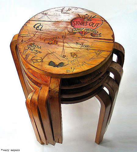 Tabouret Wary Meyers