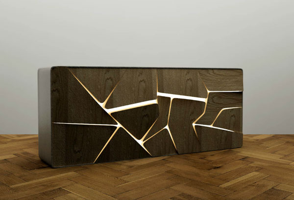 meubles et objets design bar et tag re design par charles kalpakian. Black Bedroom Furniture Sets. Home Design Ideas