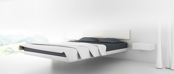 lit flottant aluna bed de dolum et votre lit flotte 40. Black Bedroom Furniture Sets. Home Design Ideas