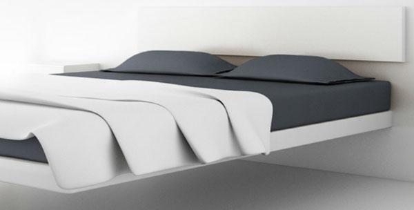 lit flottant aluna bed de dolum et votre lit flotte 40. Black Bedroom Furniture Sets. Home Design Ideas