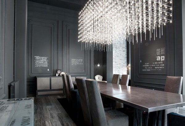 table et chaises déco design