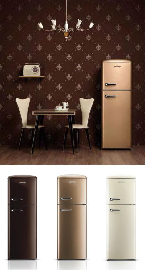 Réfrigérateurs design rétro Gorenje