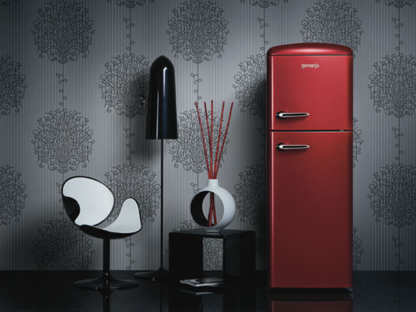 les r frig rateur design r tro vintage de gorenje. Black Bedroom Furniture Sets. Home Design Ideas