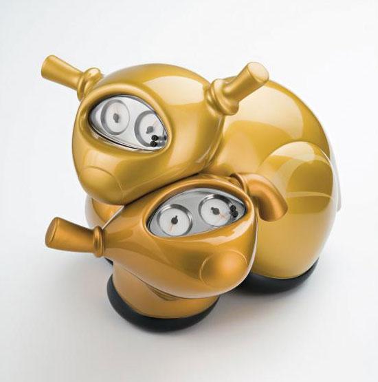 Sculptures Vespa par Patricia Piccinini