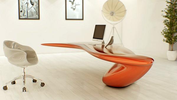 Bureau design Volna par Nuvist