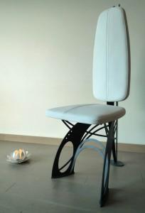 Chaise design Art Nouveau