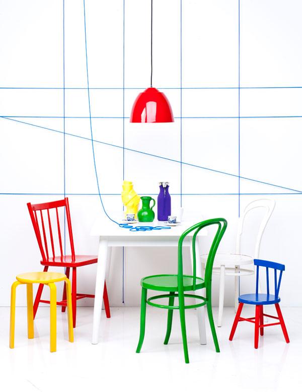 inspirations décoration d'intérieur - jeu de couleurs