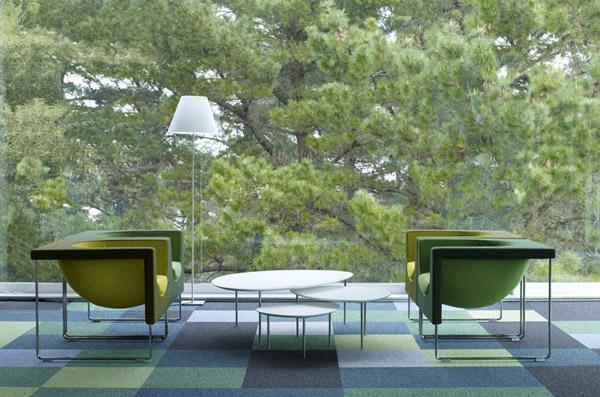 Fauteuil design Nube de STUA vert