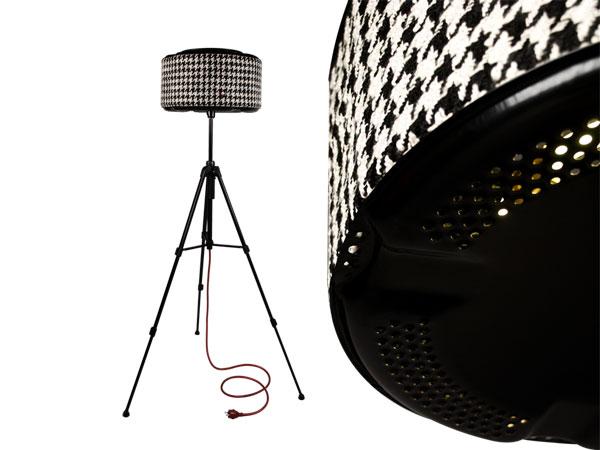 Lampe design rewashlamp piedecoq