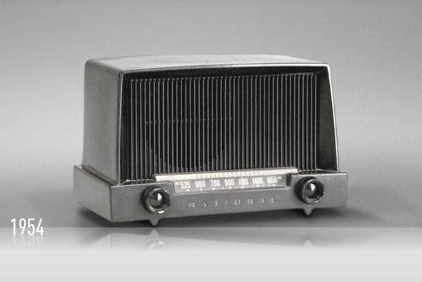 Radio design vintage années 50
