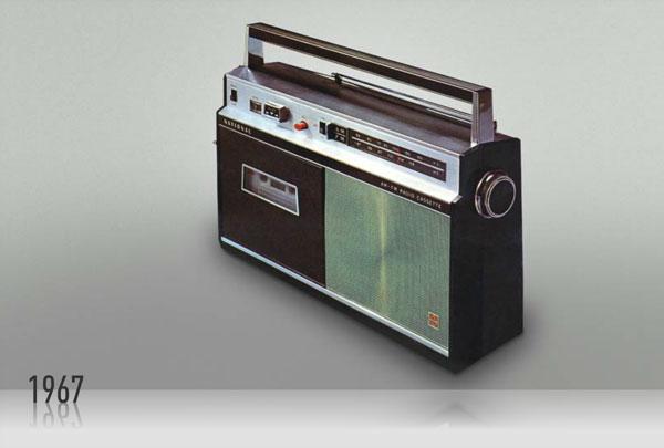 Radio enregistreur à cassette