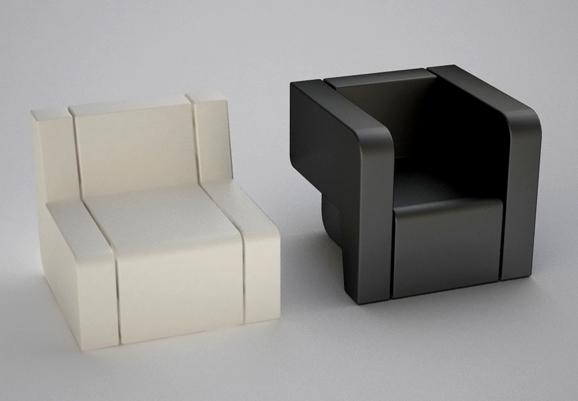 Fauteuils modulaires design