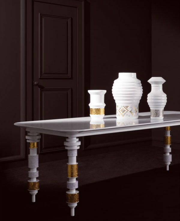 Table Bisazza design Jaime Hayon