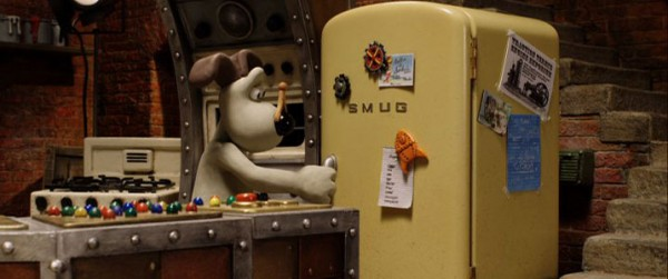 Un rfrigrateur SMeg dans Wallace et Gromit