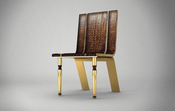 Chaise design Stiletto