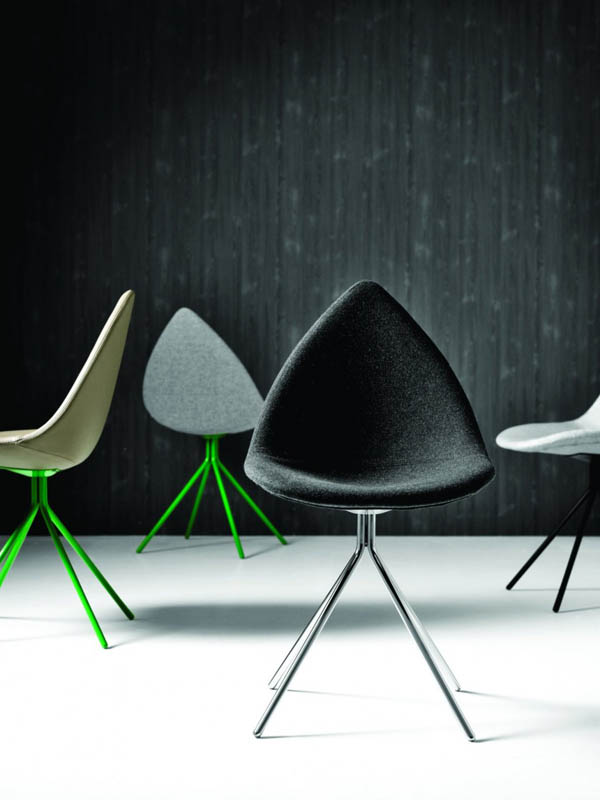 Chaises design collection Ottawa par Karim Rashid