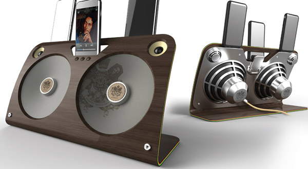 Dock pour ipod, iphone House of Marley
