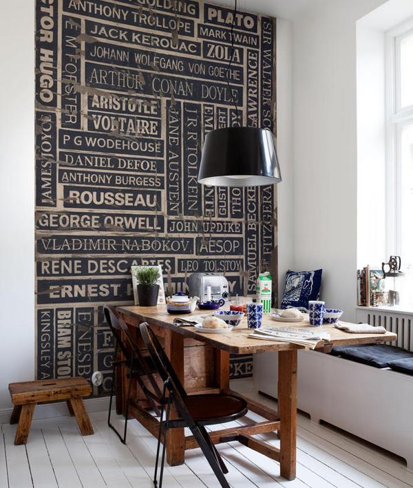 Dcoration DIntrieur Dcorer Ou Habiller Ses Murs Avec Du Papier