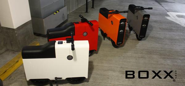 Scooter électrique design Boxx Corp