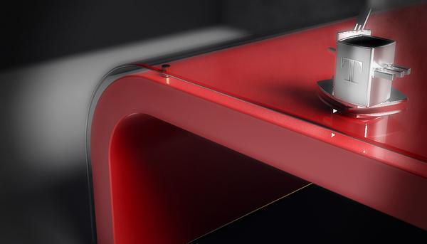Table basse design détails