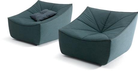 fauteuil design en tissus Bahir pour Cor