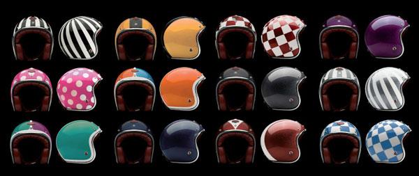 Casque moto Ateliers Ruby - détails