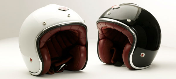 casques de moto look vintage de luxe des ateliers ruby. Black Bedroom Furniture Sets. Home Design Ideas