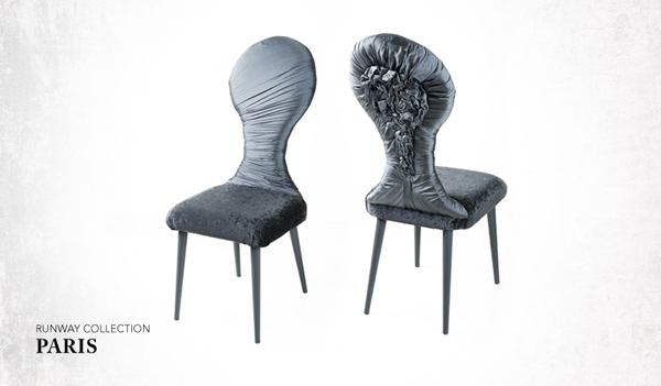 Chaises design Salvador par Leftovers - collection Paris