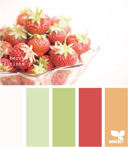 Nuancier fraise
