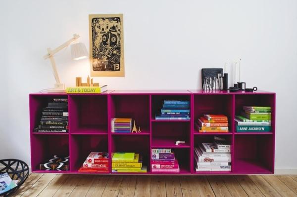 décorer un meuble de rangement
