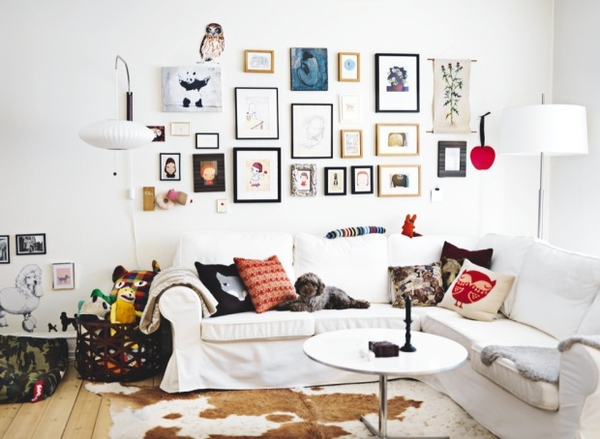 Comment decorer un mur de salon for Decorer un mur