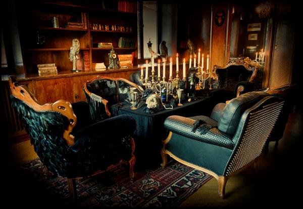 fauteuil design cuir par Leftovers