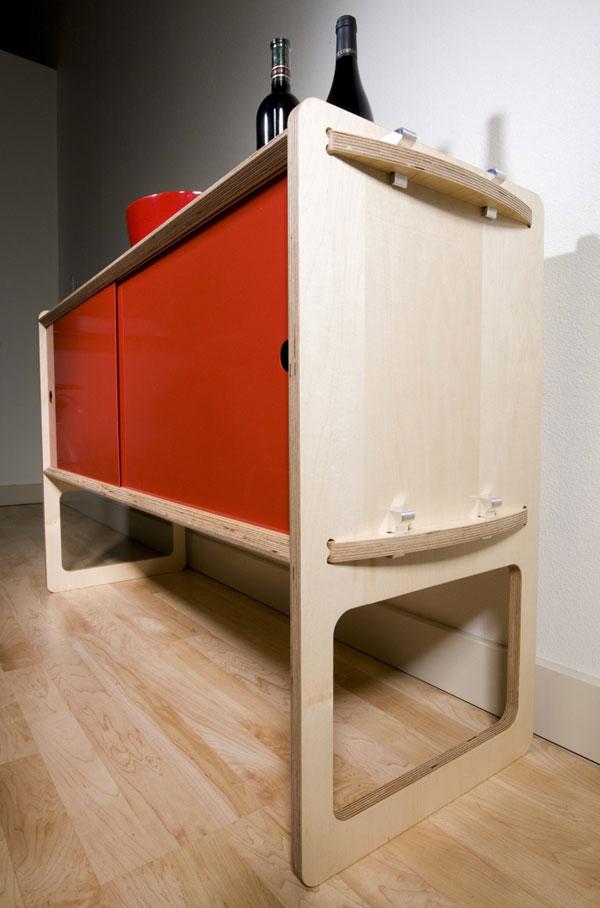 Meuble modulaire design Housefish